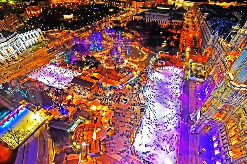 Ideje za zimske izlete: 10 najlepših avstrijskih drsališč