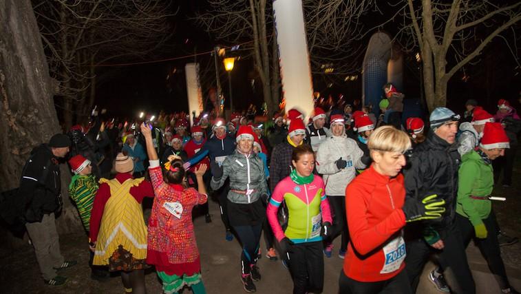 Pridružite se 14. dobrodelnemu teku in pohodu Božičkov (foto: Špela Bokal)