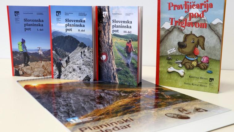 Po Slovenski planinski poti in Pravljičarija pod Triglavom - knjižne novosti Planinske založbe (foto: Hedvika Petkovšek)