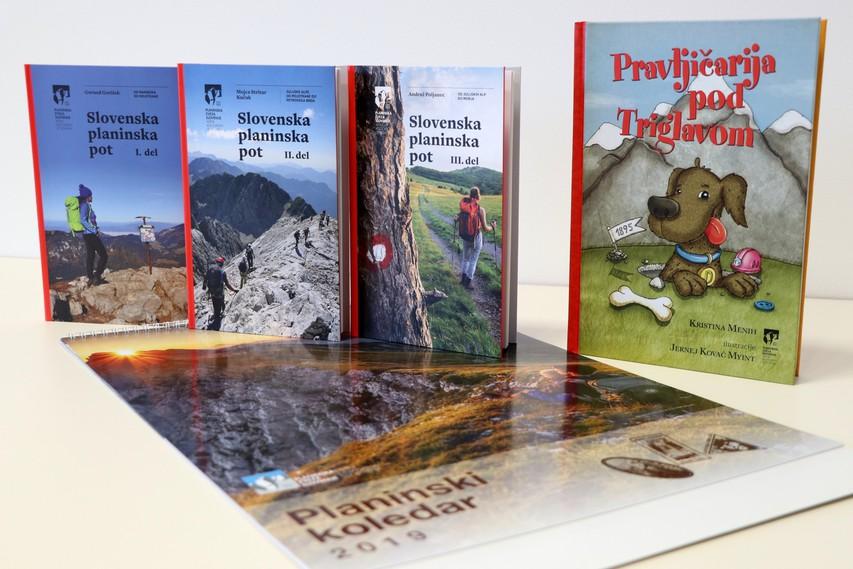 Po Slovenski planinski poti in Pravljičarija pod Triglavom - knjižne novosti Planinske založbe