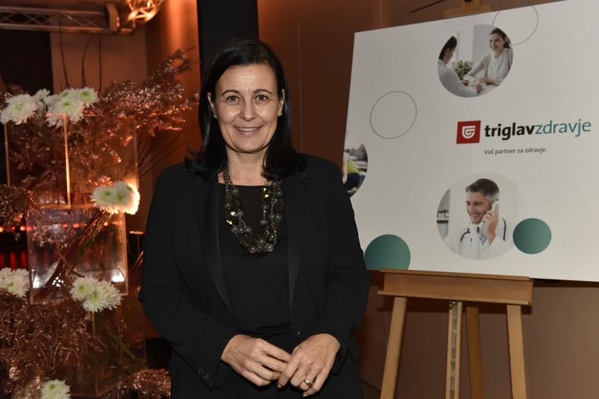 Barbara Smolnikar, članica Uprave Zavarovalnice Triglav, d.d.