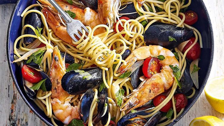 Špageti z morskimi sadeži (foto: Profimedia)