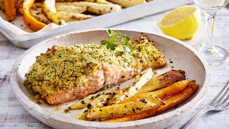 Zelenjavne paličice z lososom (foto: Profimedia)