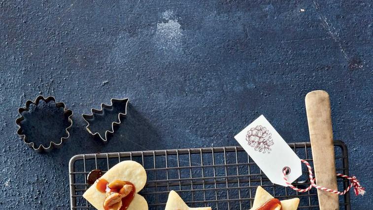 Linški piškoti s karamelo in arašidi (foto: Profimedia)