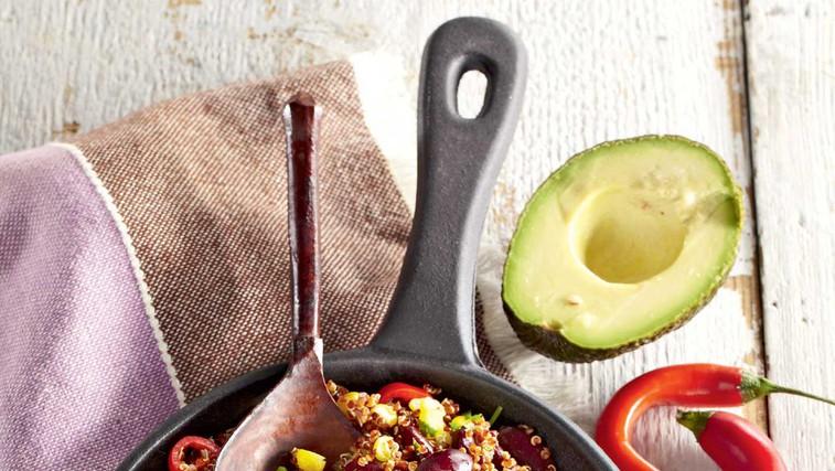 Mehiška ponev s kvinojo (foto: Profimedia)