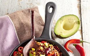 Mehiška ponev s kvinojo