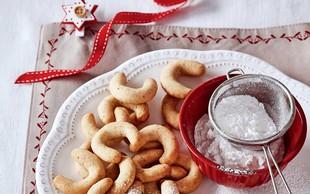 Recept za pokušino iz revije Piškoti: Večna klasika - vanilijevi rogljički!