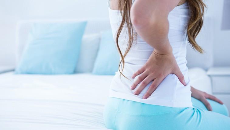 V ozadju ledvenih bolečin je lahko nevidna bolezen (foto: Profimedia)