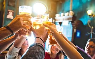 Veseli december in alkohol: Kako alkohol vpliva na hujšanje in/ali pridobivanje mišične mase