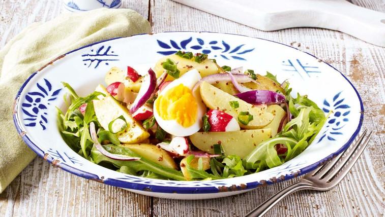 Lahka krompirjeva solata (foto: Profimedia)