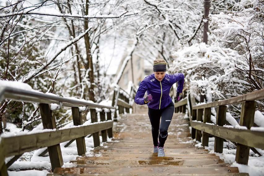 Z vadbo proti mrazu in depresiji