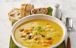 Prosena juha z gobami