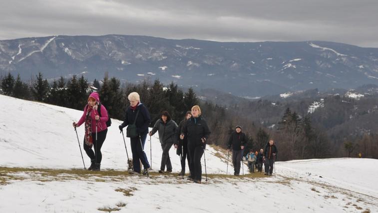 Na noge! Zimski humanitarni pohod od Kamnice do Urbana (foto: Profimedia)