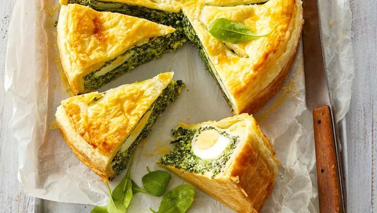 Pripravite okusno jajčno pito s špinačo (foto: Profimedia)