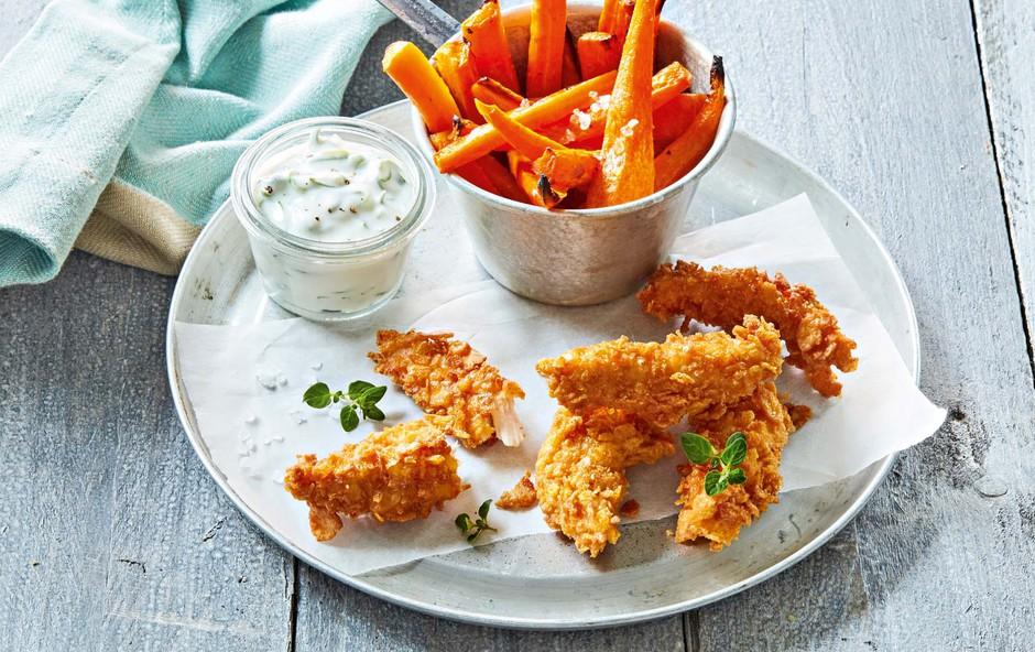 Zdravo in okusno: Ocvrt korenček s hrustljavim piščancem (foto: Profimedia)