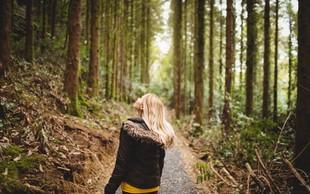 Čas je, da obisk narave postane naše vsakdanje (ali vsakotedensko) opravilo