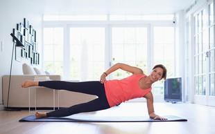 Tako doma naredite hiter in učinkovit trening! (5-minutne vadbe)