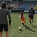 Bo vaš malček spremljal nogometnega igralca na finalni tekmi UEFA Champions League v Madridu? (foto: Jernej Kokol)