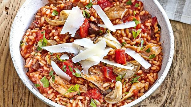 Rižota z govedino in parmezanom (foto: Profimedia)