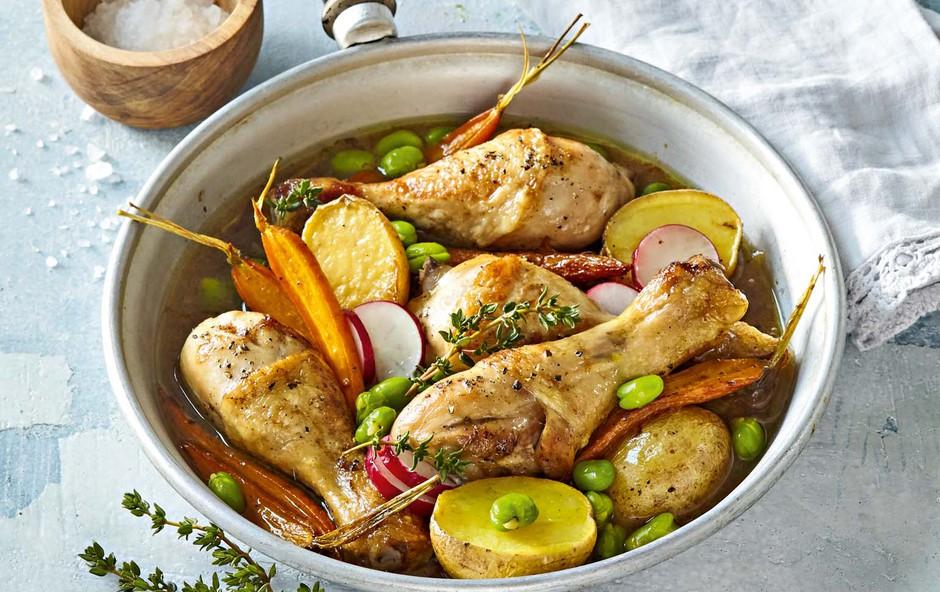 Dušene piščančje kračke (foto: Profimedia)
