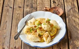Cmočki s kuhanim krompirjem