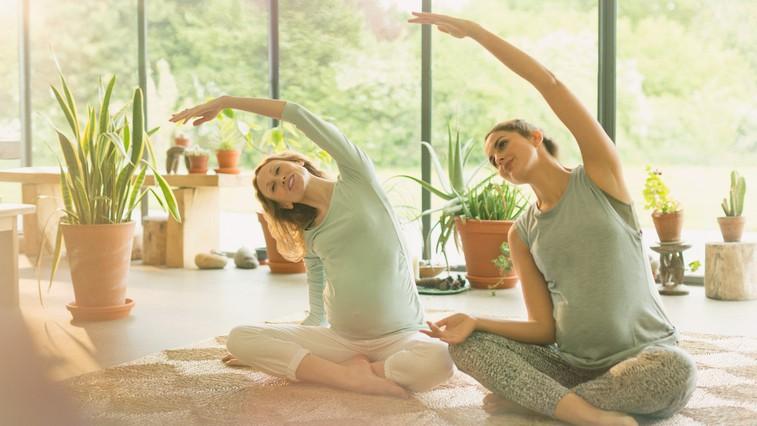 Kakšne posledice ima na nosečnice redna vadba (in na kaj morate biti pri tem pozorne) (foto: profimedia)