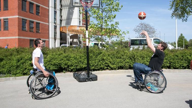 Parafest – dan športa invalidov: Ker je šport pomemben tudi pri rehabilitaciji (foto: Promocijsko gradivo)