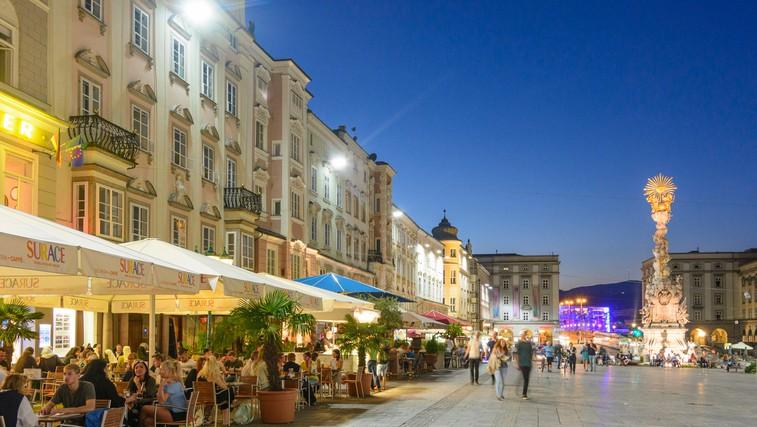 Linz, mestni trg.   Foto: Oesterreich Werbung - Volker Preusser (foto: Austria.info)