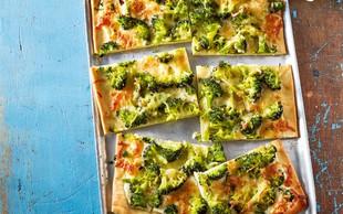 Recept: Domača zelenjavna pica