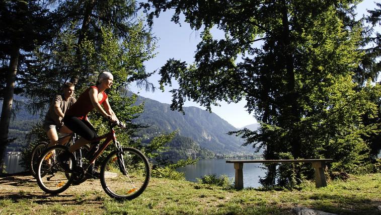 Najlepše kolesarske poti ob jezerih in rekah (foto: Steve Haider - Millstaetter See Tourismus gmbh)