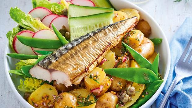 Skandinavska ribja solata (foto: Profimedia)