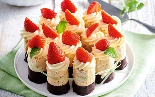 Jagodne tortice