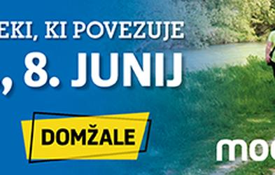 Pohod ob reki bo zopet povezal Domžale in Kamnik