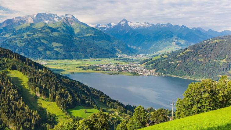 Zell am See: Gore in jezero (foto: profimedia)