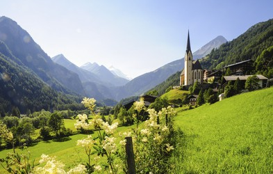 Idilične alpske vasice, ki jih enostavno morate obiskati