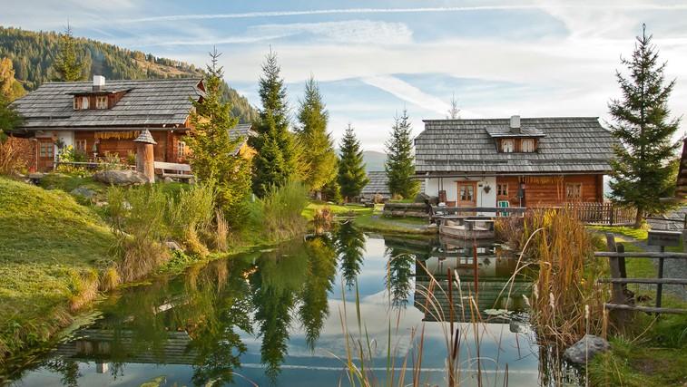 4 idilične glampinge lokacije v alpski pokrajini (foto: Almdorf Seinerzeit)