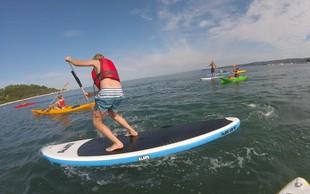 Obiščite park vodnih športov in preizkusite noro zabavne vodne aktivnosti
