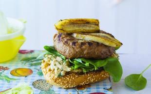 Hitro pripravljeno: Banana Joe - posebnež med hamburgerji