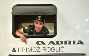Primož Roglič bo odslej s partnerko in sinčkom med dirkami stanoval v prestižnem avtodomu