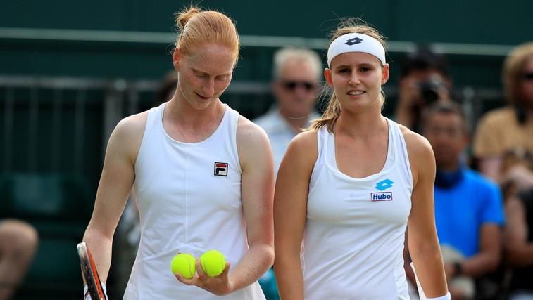 Alison van Uytvanck in Greet Minnen – par na teniškem igrišču in v resničnem življenju (foto: Profimedia)