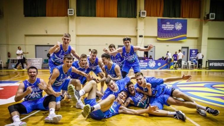 Slovenski košarkarji do 18 let tretji v Evropi (foto: Foto: KZS)