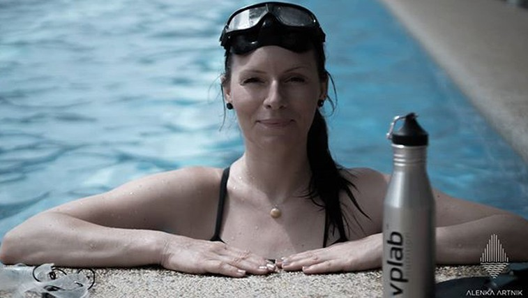 Nov svetovni rekord! Alenka Artnik se je na vdih potopila neverjetnih 111 metrov (foto: Instagram)