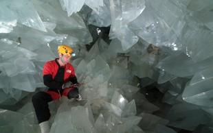 V Španiji zdaj dostopna največja kristalna jama na svetu