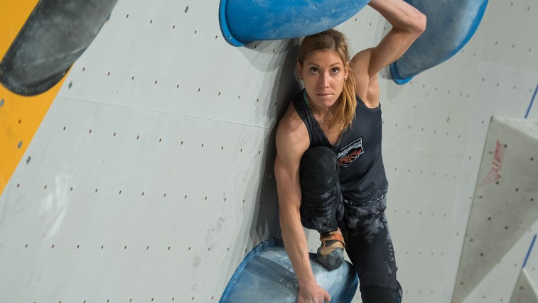"Plezalka Mina Markovič: ""Plezanje človeku ogromno da."" (foto: Profimedia)"