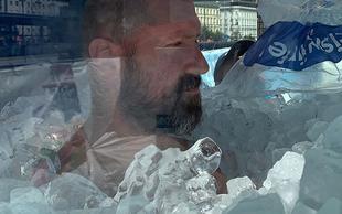2:08:47 – svetovni rekord v najdaljšem stiku celega telesa z ledom