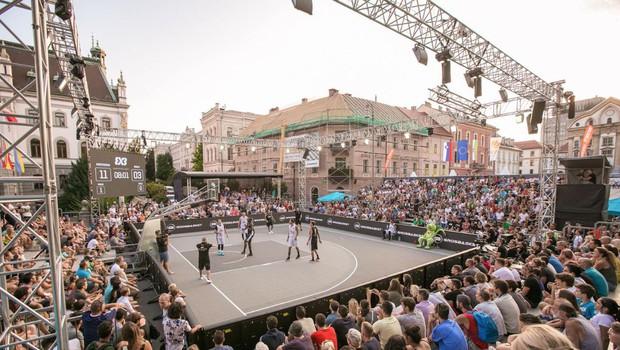3 na 3: vroči košarkarski dvoboji sredi Ljubljane (foto: Foto: KZS)