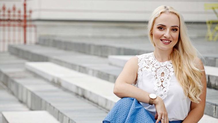 Ana Žontar Kristanc - pridna šolarka, ki pa je tudi plonkala (foto: Aleksandra Saša Prelesnik)