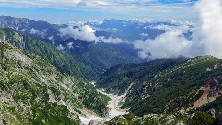 Veste, da imajo tudi Japonci svoje Alpe? Čudoviti narodni park Čubu- Sangaku (foto: Profimedia)