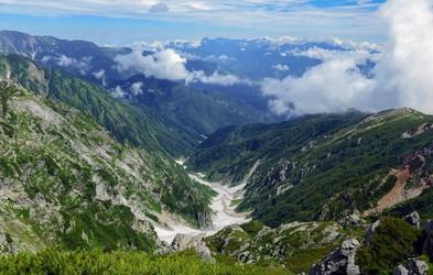 Veste, da imajo tudi Japonci svoje Alpe? Čudoviti narodni park Čubu- Sangaku