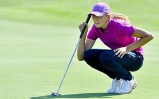 15-letna Pia Babnik - ena najboljših amaterskih igralk golfa v Evropi